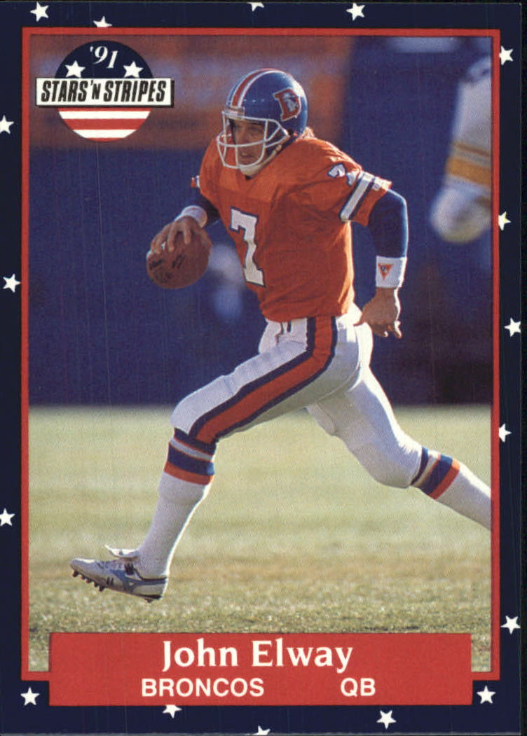 1991 Fleer Stars and Stripes #16 John Elway