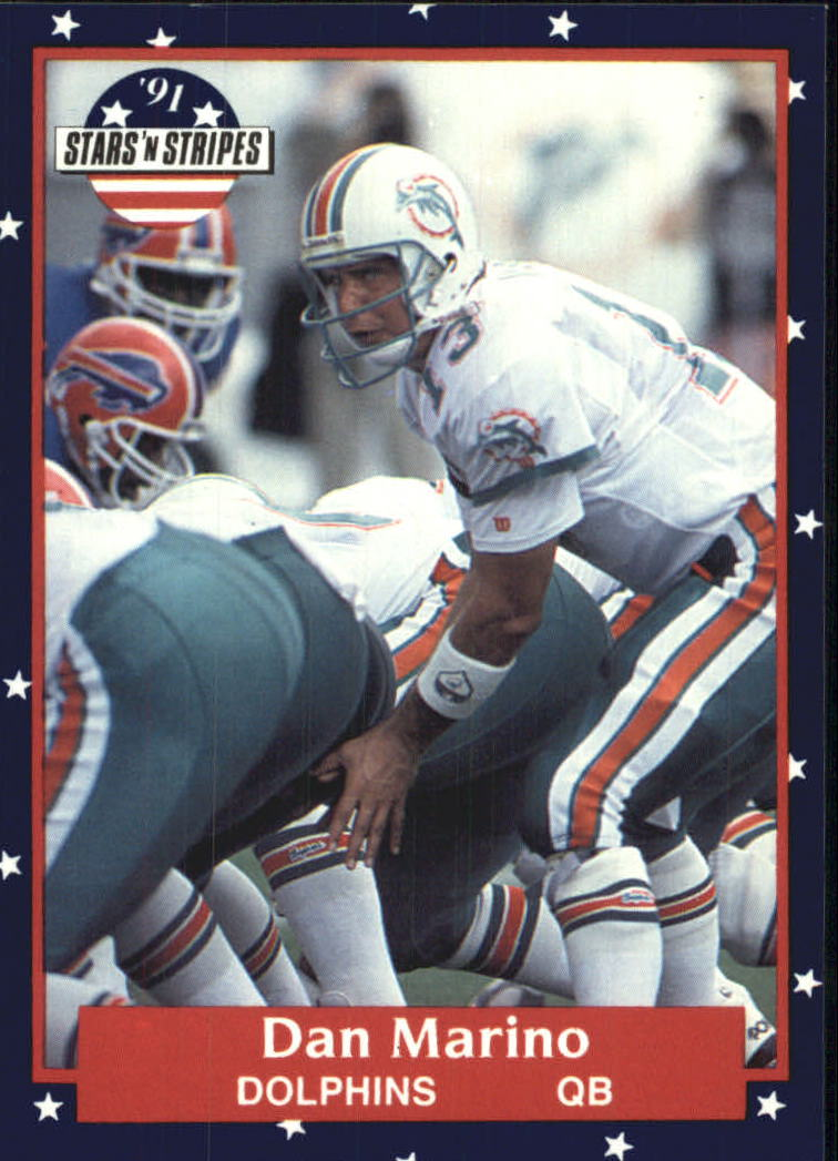 1991 Fleer Stars and Stripes #40 Dan Marino