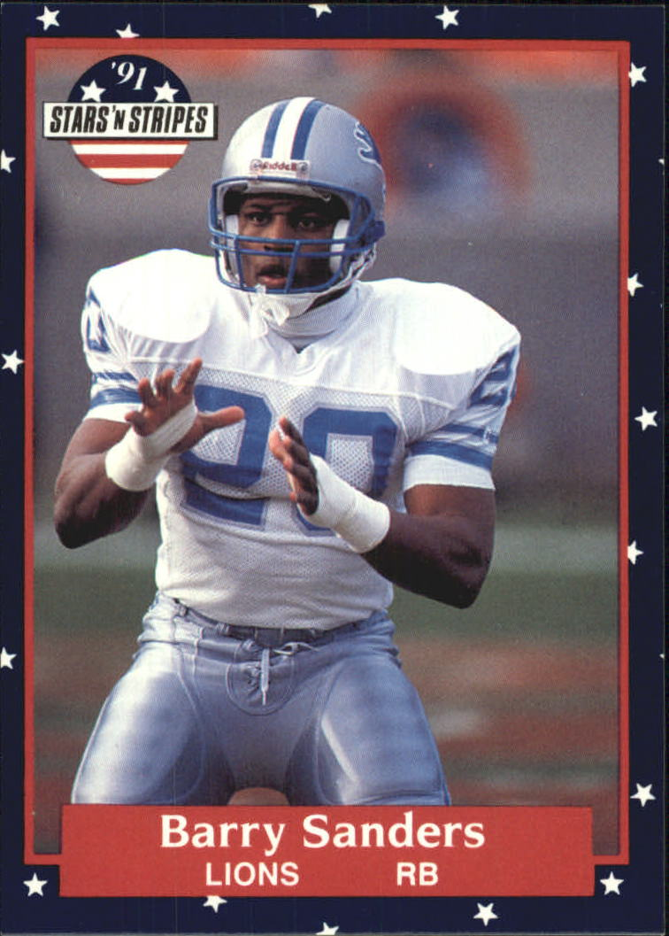 1991 Fleer Stars and Stripes #73 Barry Sanders