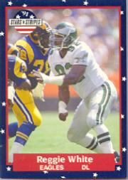 1991 Fleer Stars and Stripes #100 Reggie White