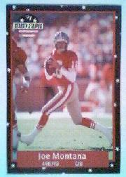 1991 Fleer Stars and Stripes #108 Joe Montana