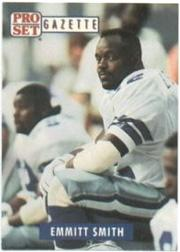 1991 Pro Set Promos #PSG1 Emmitt Smith Gazette