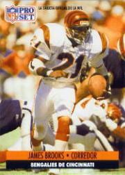 1991 Pro Set Spanish #28 James Brooks