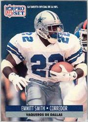 1991 Pro Set Spanish #54 Emmitt Smith