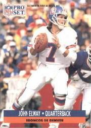 1991 Pro Set Spanish #57 John Elway