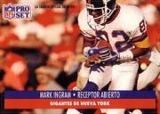 1991 Pro Set Spanish #167 Mark Ingram