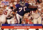 1991 Pro Set Spanish #168 Leonard Marshall