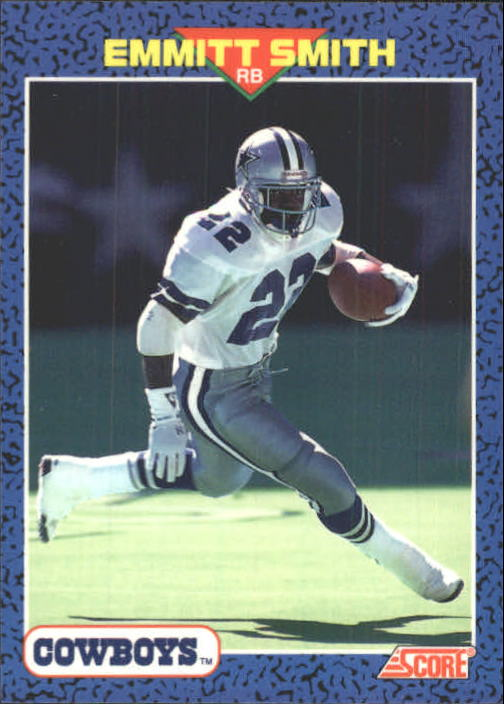 1991 Score Young Superstars #12 Emmitt Smith