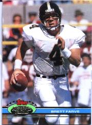 1991 Stadium Club Super Bowl XXVI #94 Brett Favre UER