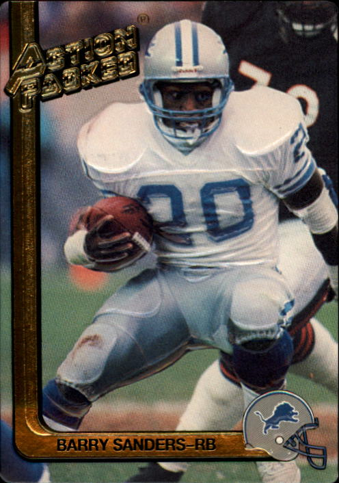1991 Action Packed #78 Barry Sanders