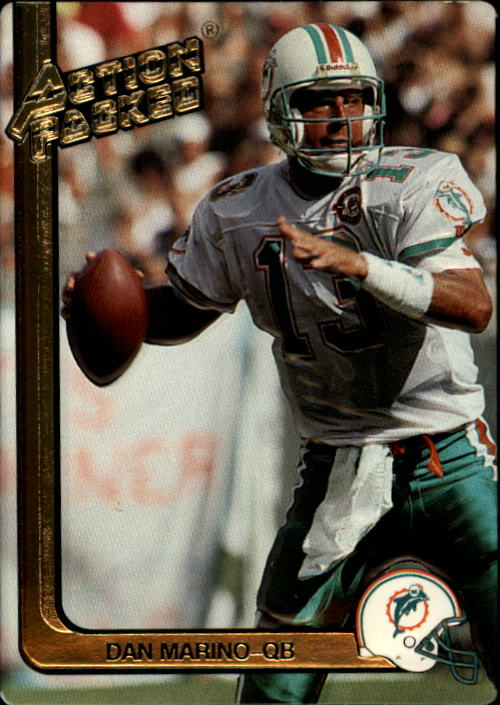1991 Action Packed #144 Dan Marino