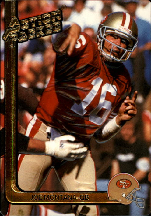 1991 Action Packed #247 Joe Montana