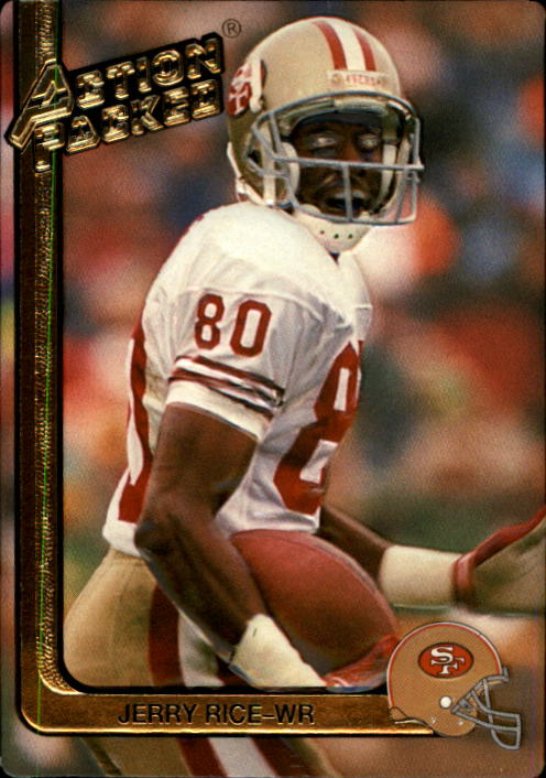 1991 Action Packed #248 Jerry Rice