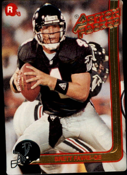 1991 Action Packed Rookie Update #21 Brett Favre RC