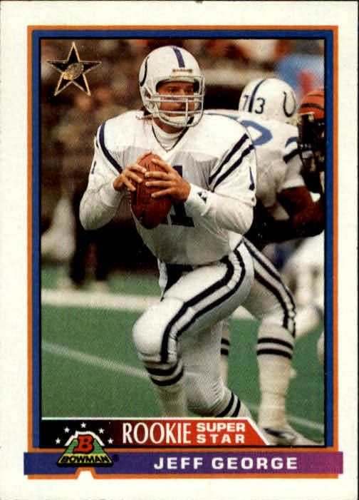 1991 Bowman #1 Jeff George RS