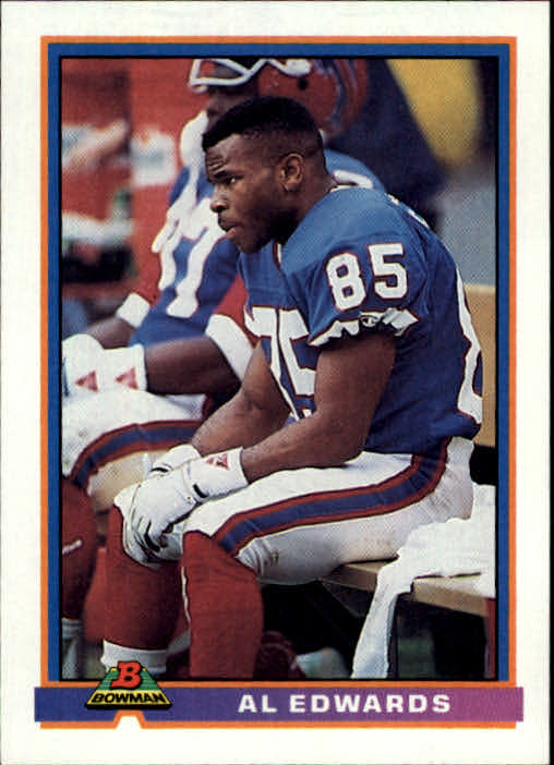 1991 Bowman #36 Al Edwards