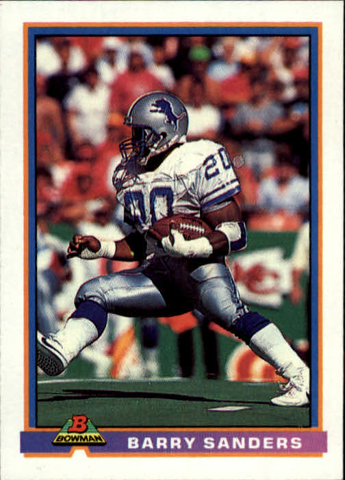 1991 Bowman #153 Barry Sanders UER