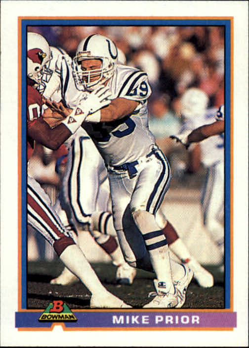 1991 Bowman #200 Mike Prior