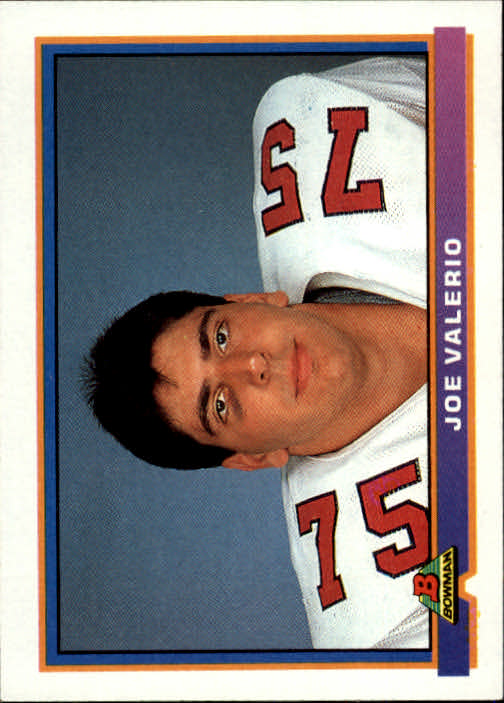 1991 Bowman #215 Joe Valerio RC