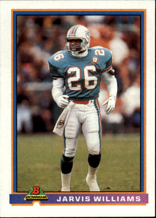 1991 Bowman #294 Jarvis Williams