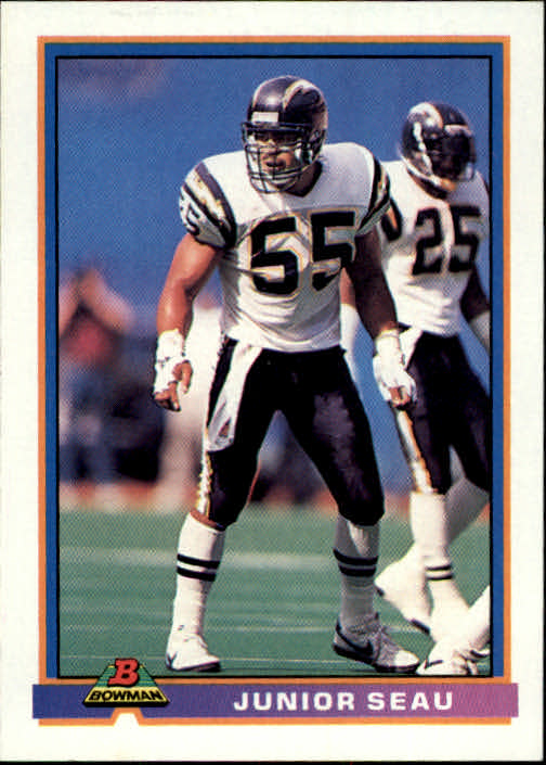 1991 Bowman #455 Junior Seau