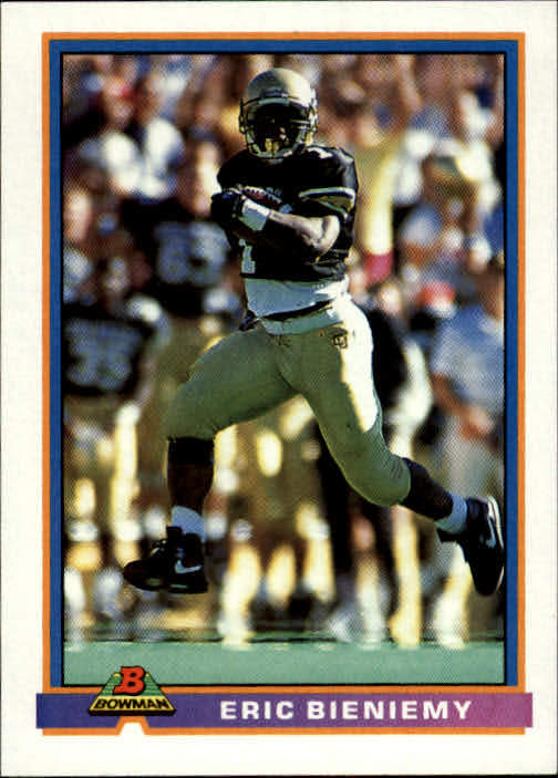 1991 Bowman #468 Eric Bieniemy RC