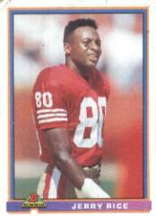 1991 Bowman #470 Jerry Rice