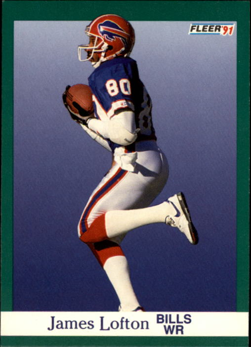 1991 Fleer #4 James Lofton
