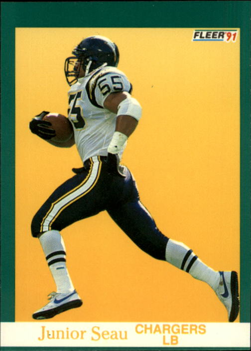 1991 Fleer #179 Junior Seau
