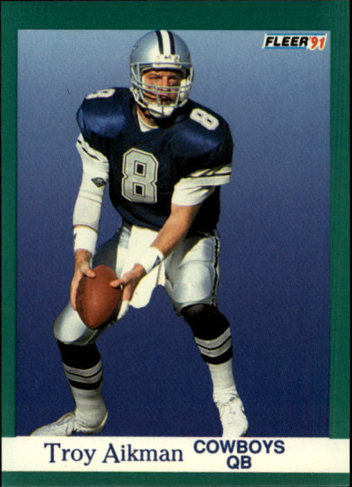 1991 Fleer #228 Troy Aikman