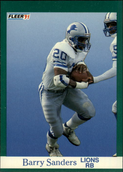 1991 Fleer #247 Barry Sanders