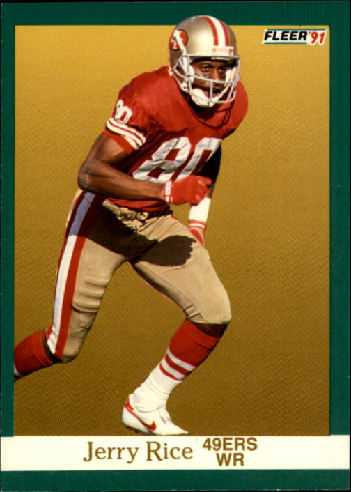 1991 Fleer #363 Jerry Rice