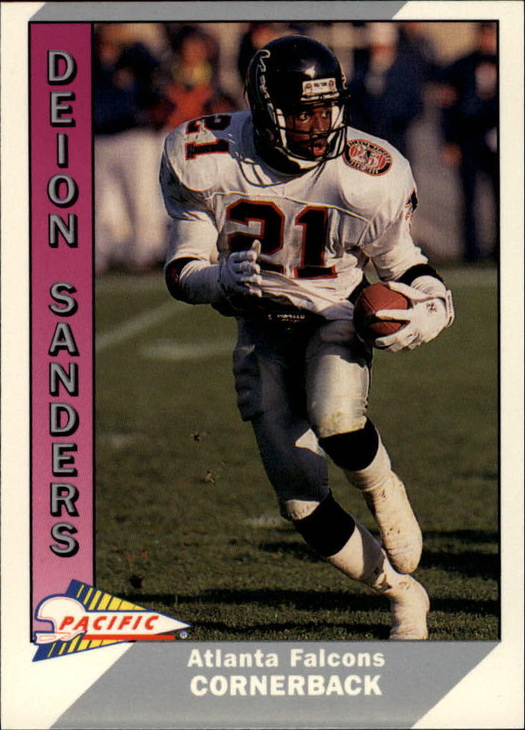 1991 Pacific #1 Deion Sanders