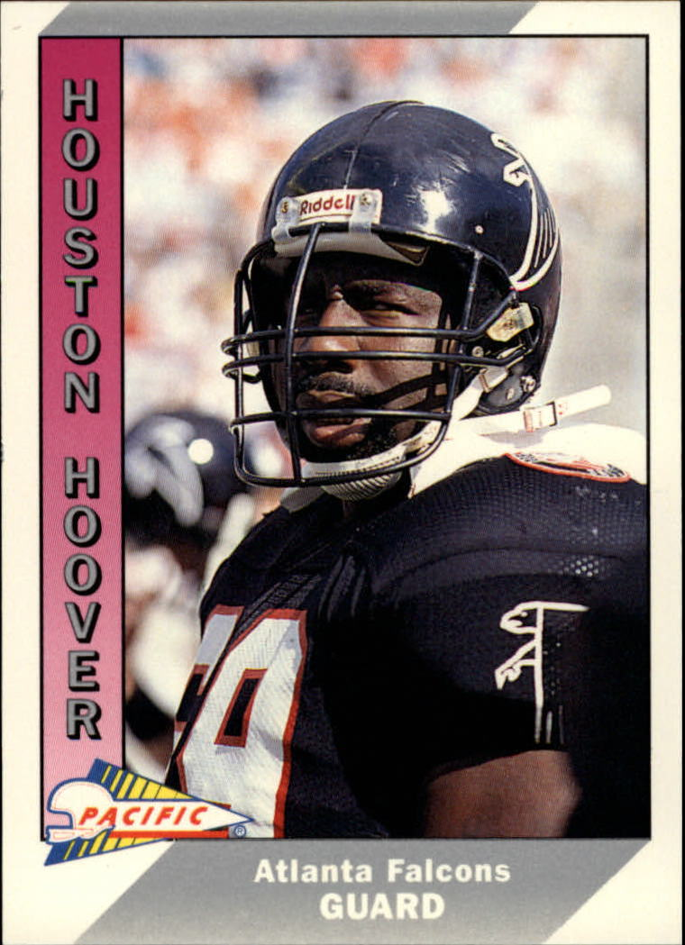 1991 Pacific #15 Houston Hoover UER/(Deion misspelled as/Deon on card back)