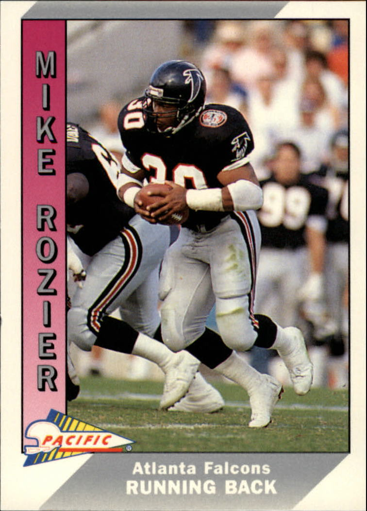 1991 Pacific #18 Mike Rozier