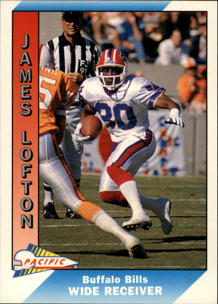 1991 Pacific #25 James Lofton UER/(Photo on front/actually Flip Johnson)