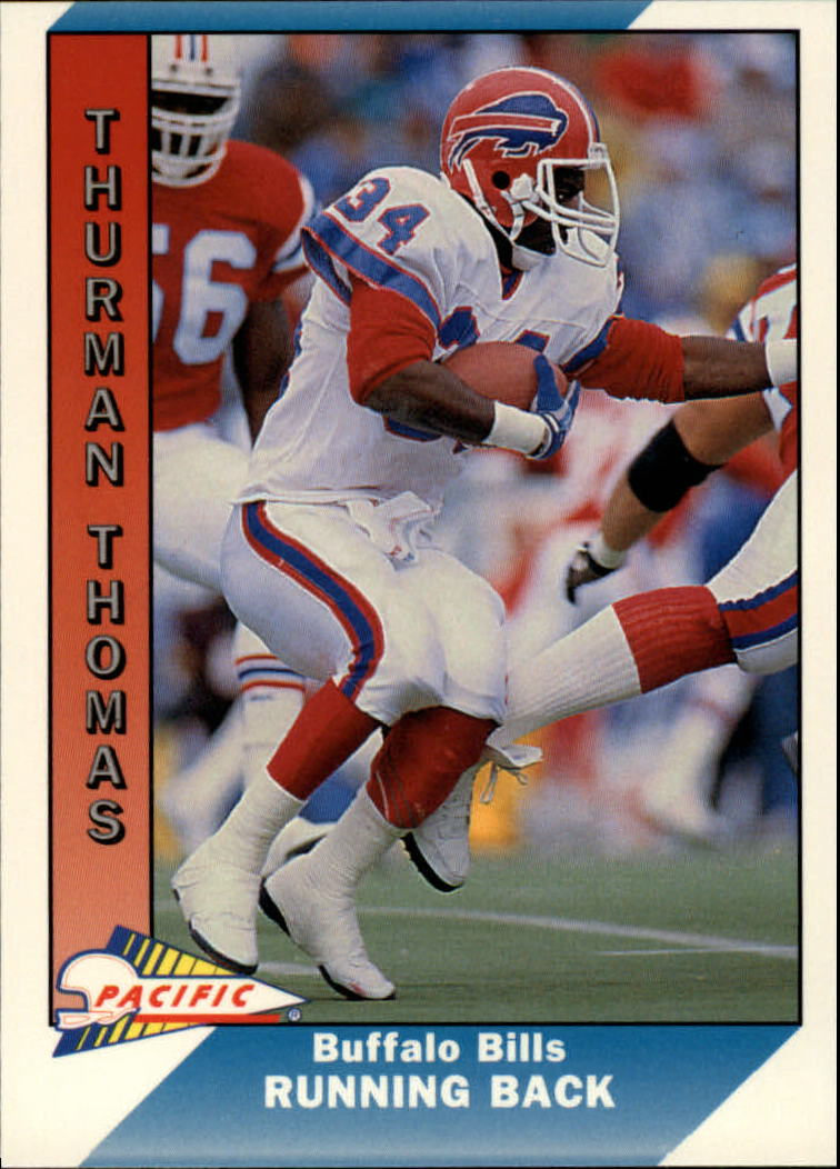 1991 Pacific #33 Thurman Thomas