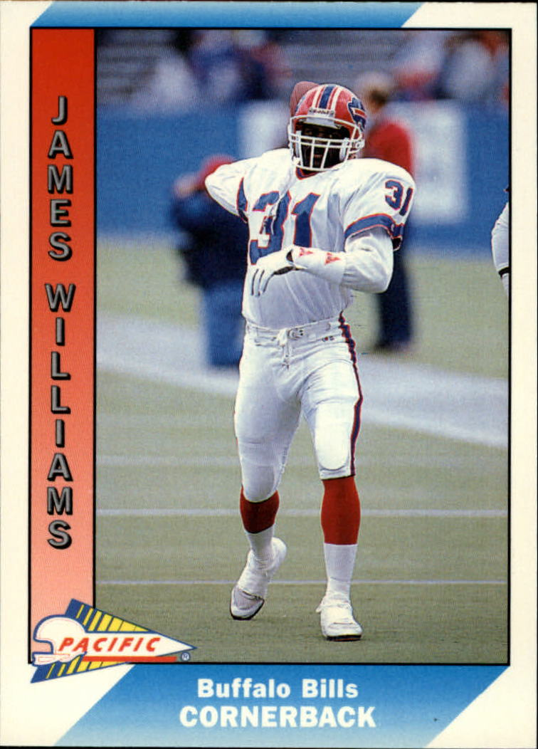 1991 Pacific #34 James Williams