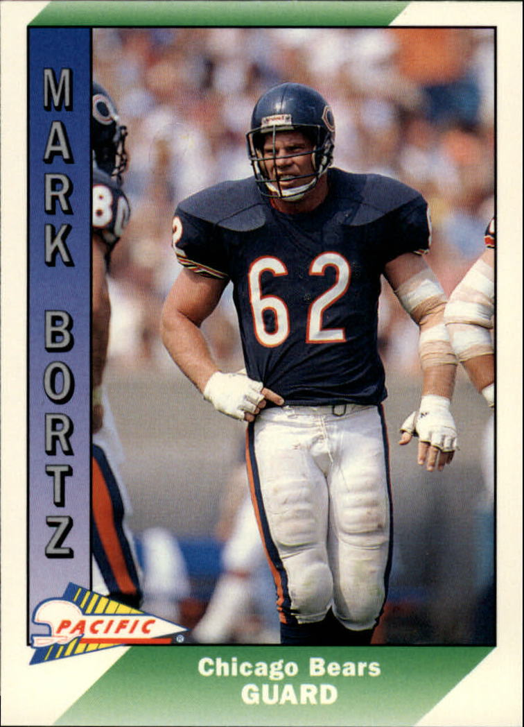 1991 Pacific #41 Mark Bortz UER/(Johnny Bailey misspelled/as Johhny on cardback)