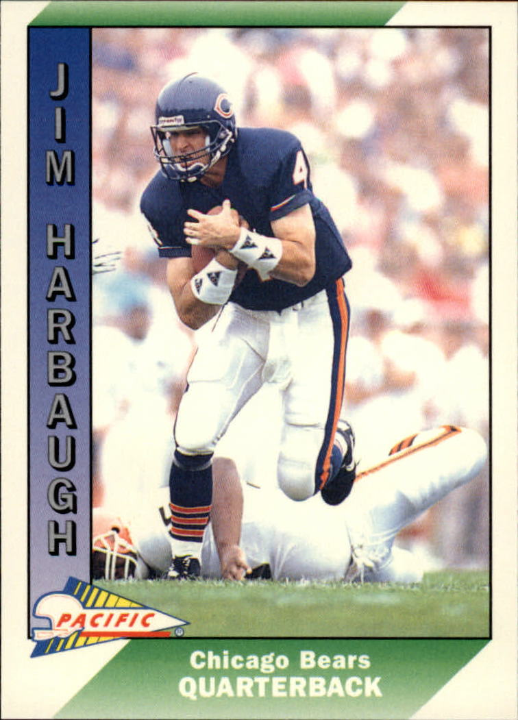 1991 Pacific #49 Jim Harbaugh