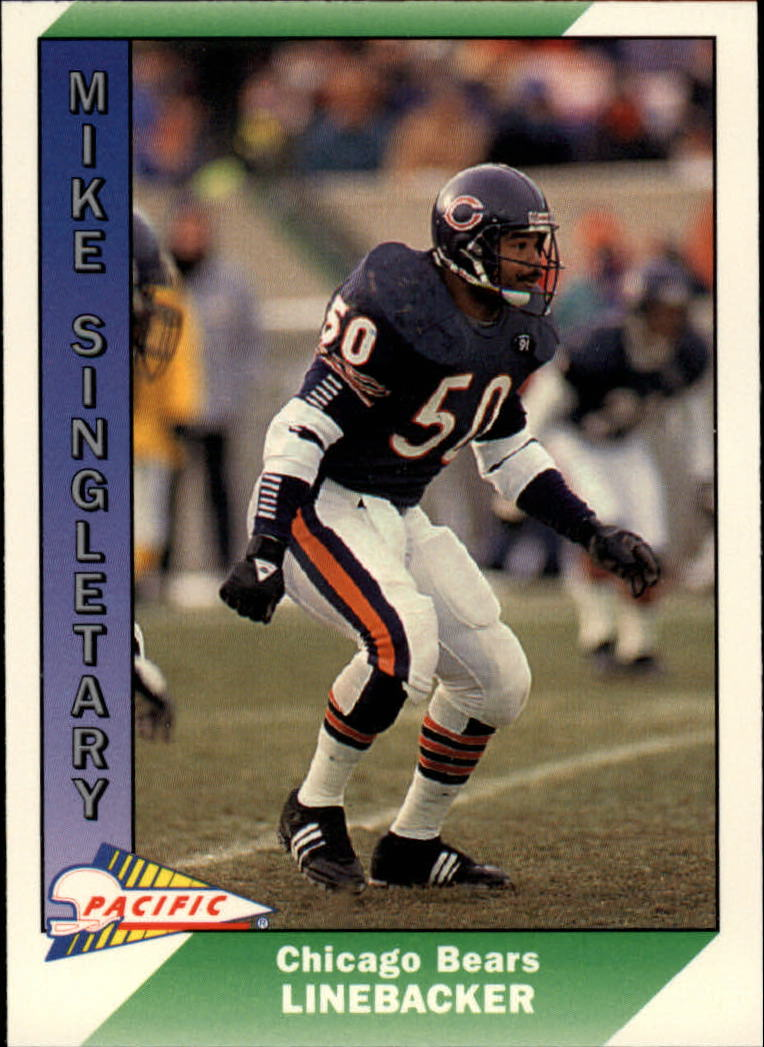 1991 Pacific #53 Mike Singletary UER