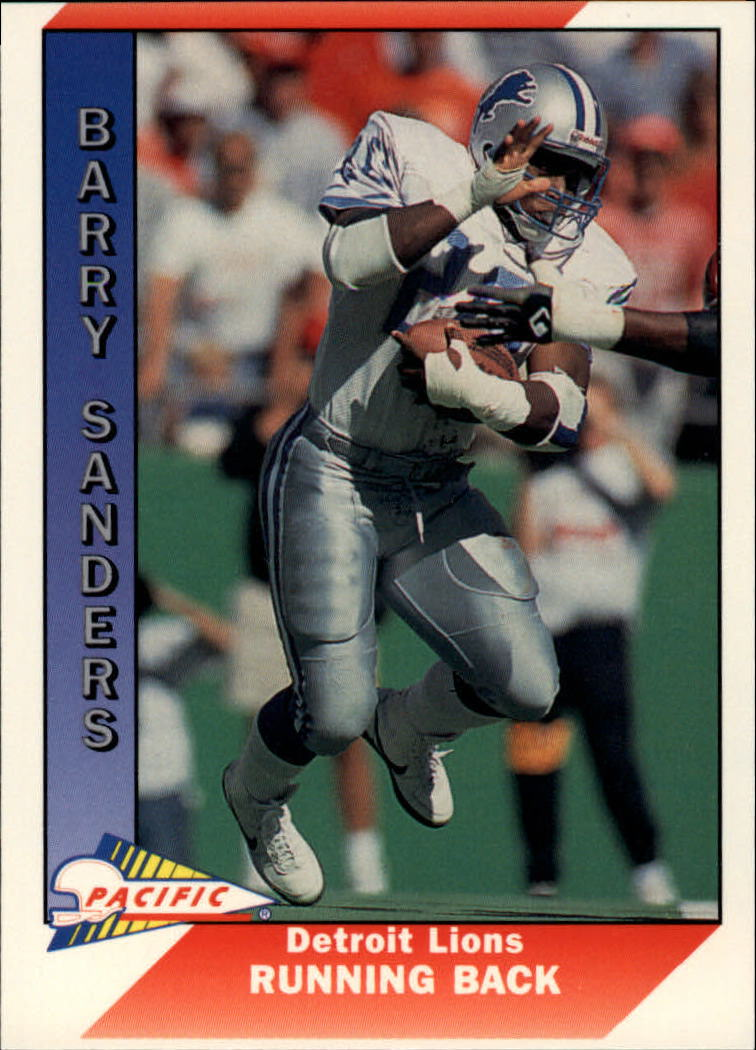 1991 Pacific #144 Barry Sanders