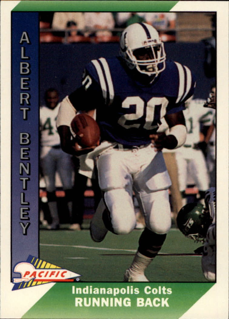 1991 Pacific #188 Albert Bentley