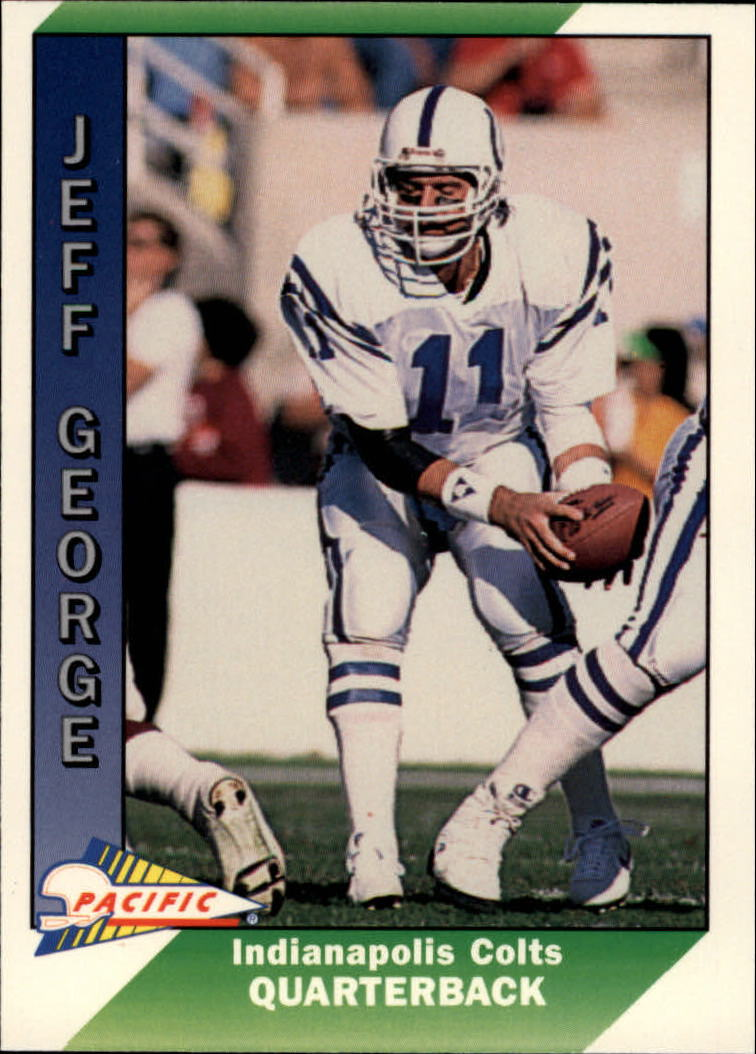1991 Pacific #193 Jeff George
