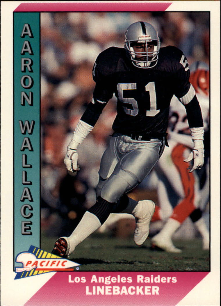 1991 Pacific #242 Aaron Wallace