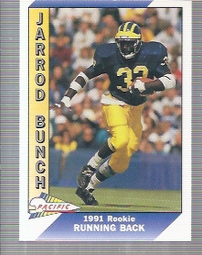 1991 Pacific #438 Jarrod Bunch RC