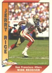 1991 Pacific #467 Jerry Rice UER