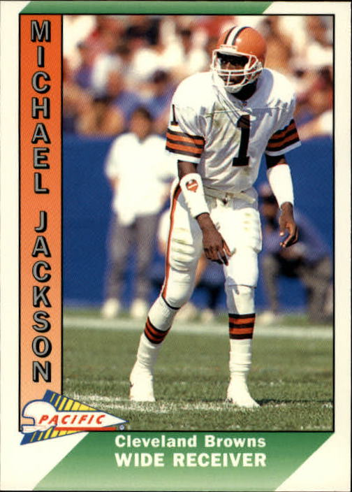 1991 Pacific #570 Michael Jackson WR RC
