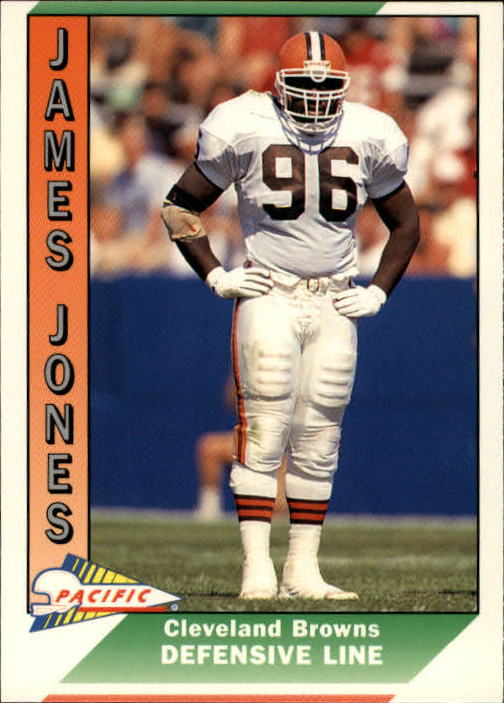 1991 Pacific #571 James Jones RC