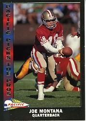 1991 Pacific Picks The Pros #10 Joe Montana